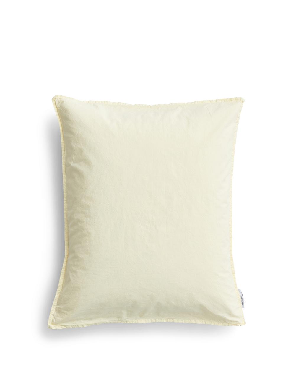 Pillowcase Crinkle Spring Yellow
