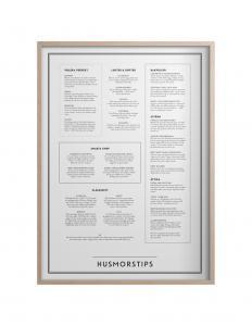 Husmorstips poster