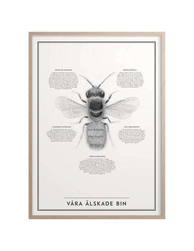 Our beloved bee poster