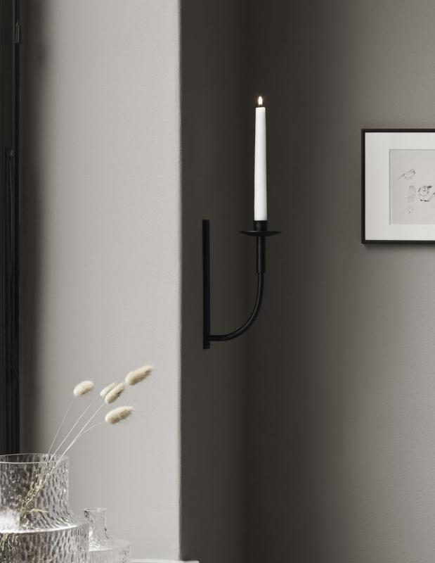 Candle Sconce Black
