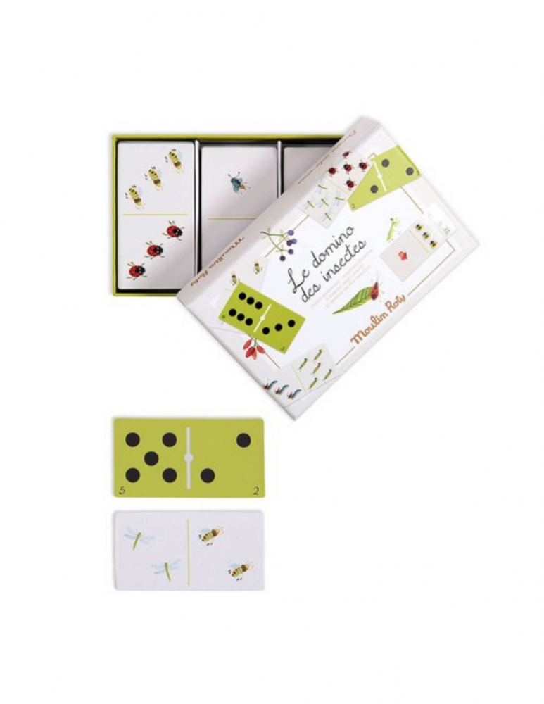 Domino Game Insects Le Jardin
