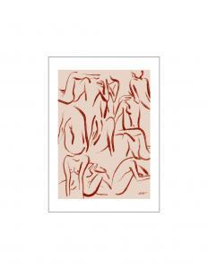 Poster Le Femmes D Ete 50x70cm
