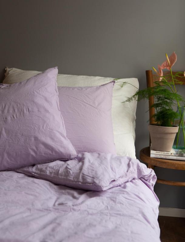 Påslakanset Crinkle Lilac