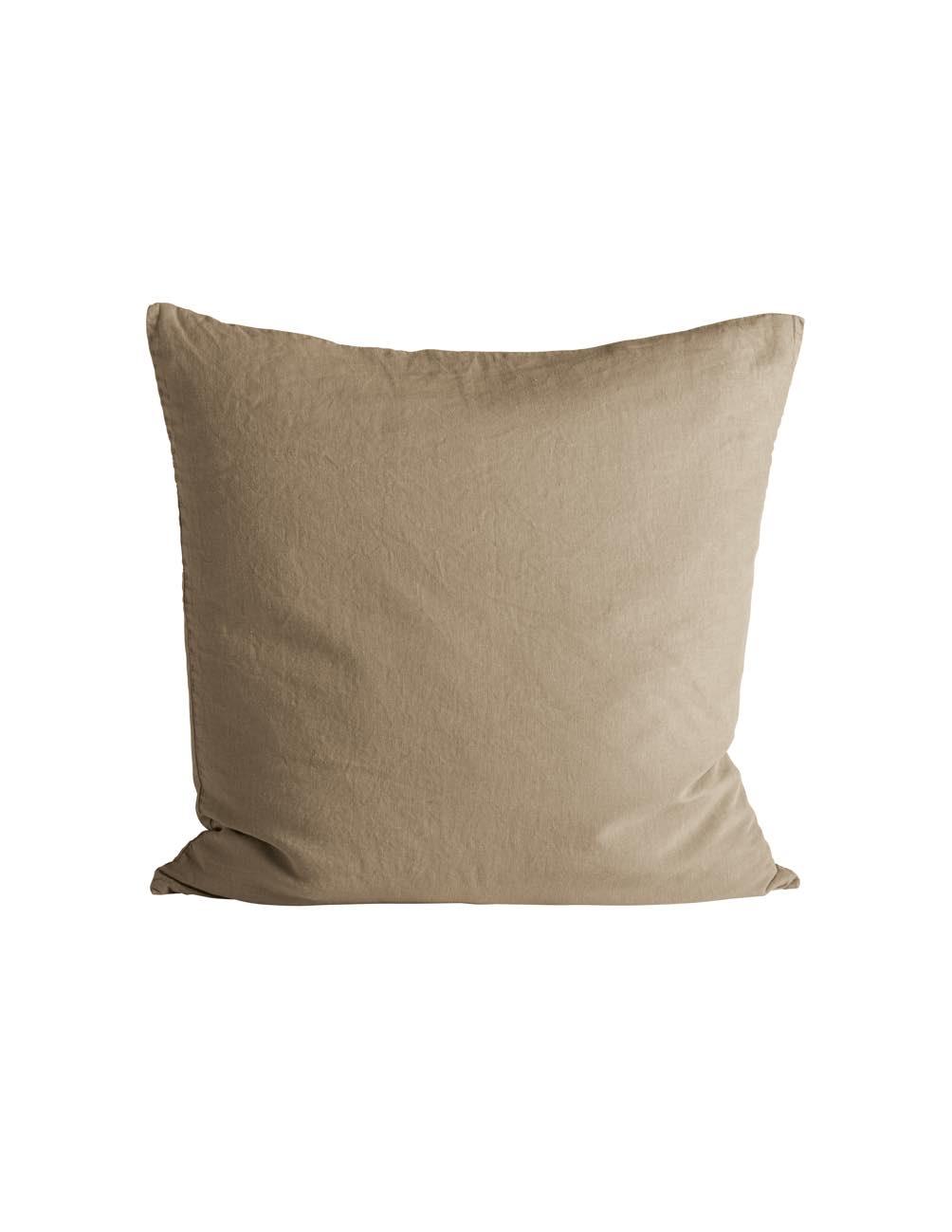 Honey Linen Cushion cover 50x50cm