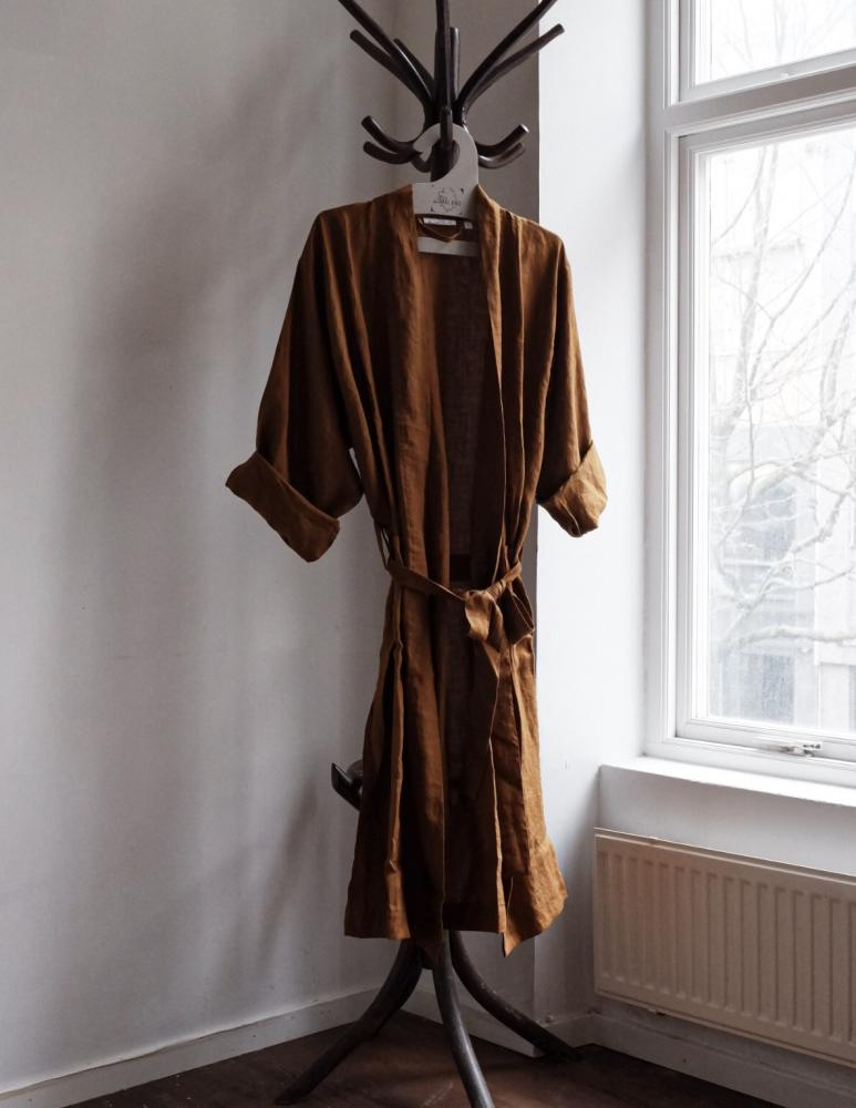 Linen Bathrobe Kummin