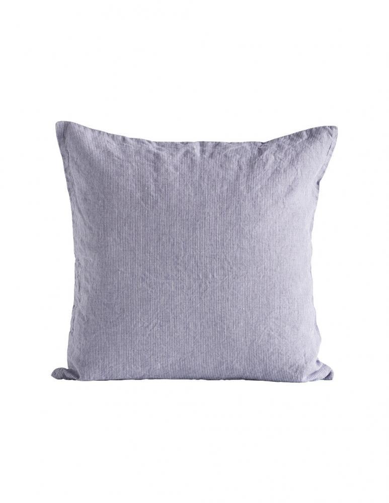 Lavender Linen Pin Stripe Cushion Cover 50x50cm