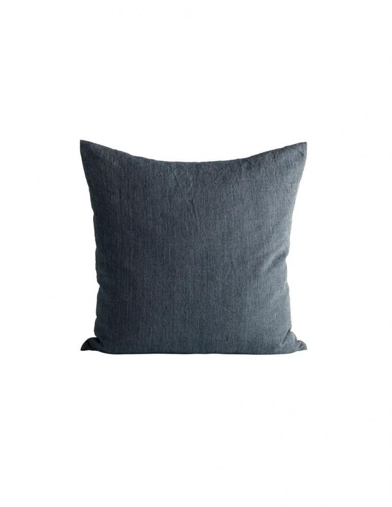 Navy Pin Stripe Cushion cover 50x50cm