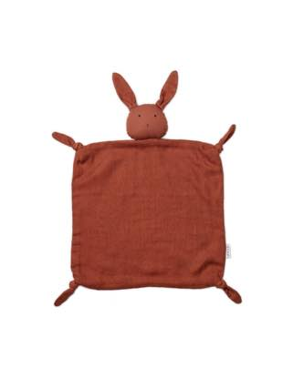 Agnete Cuddle Cloth Rabbit Rusty