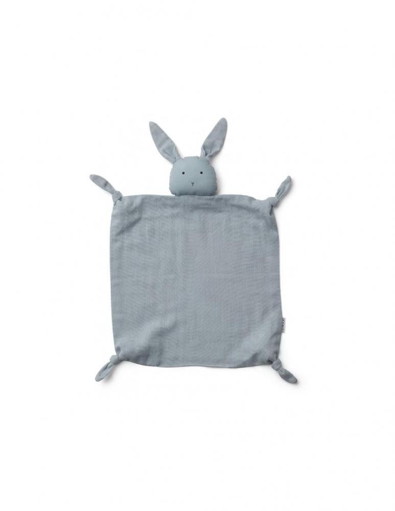 Agnete Cuddle Cloth Rabbit Sea Blue