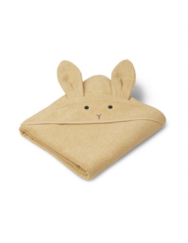 Augusta Hooded Towel Rabbit Smoothie Yellow