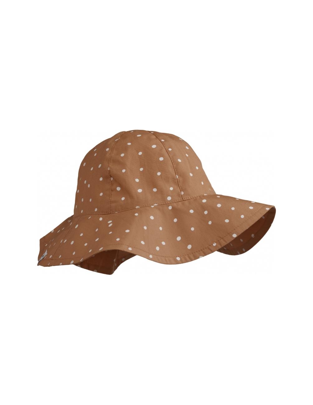 Amelia Confetti Terracotta Sun hat