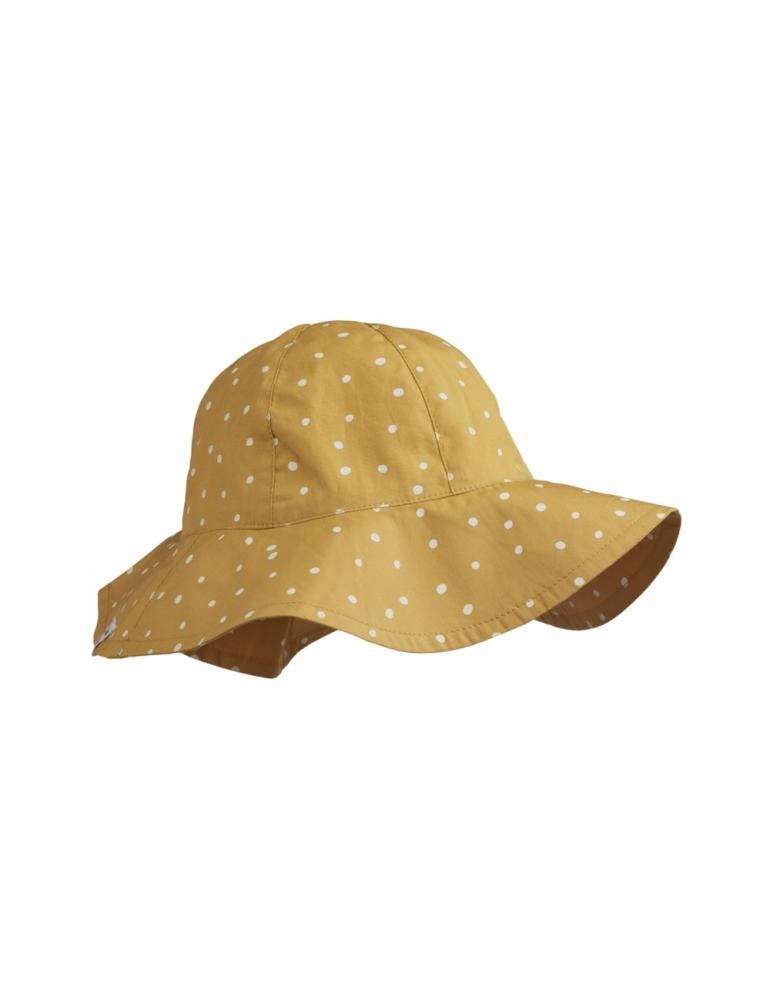 Amelia Confetti Yellow Sun hat