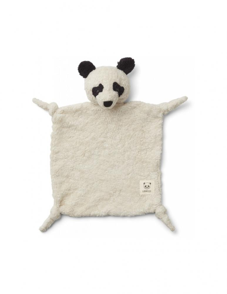 Lotte Cuddle Cloth Panda Off White