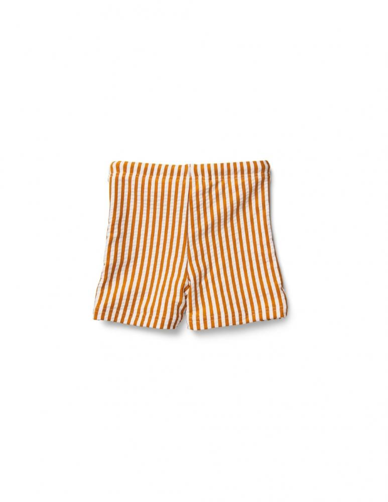 Otto Swim Pants Mustard/White