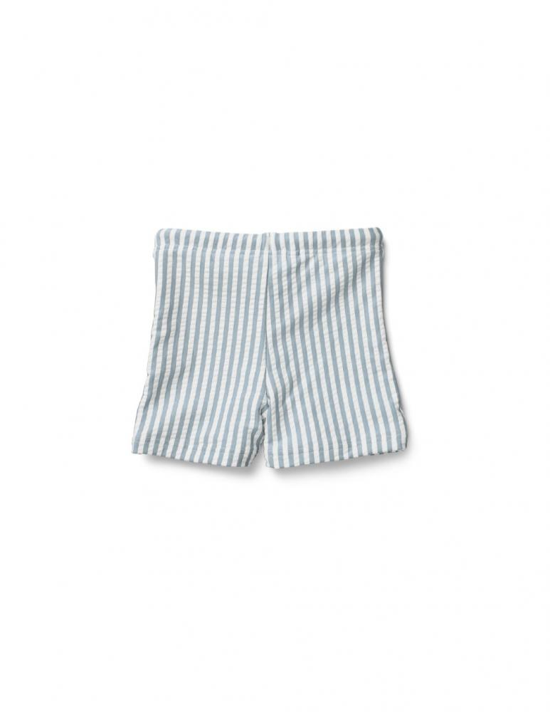 Otto Swim Pants Sea Blue/White