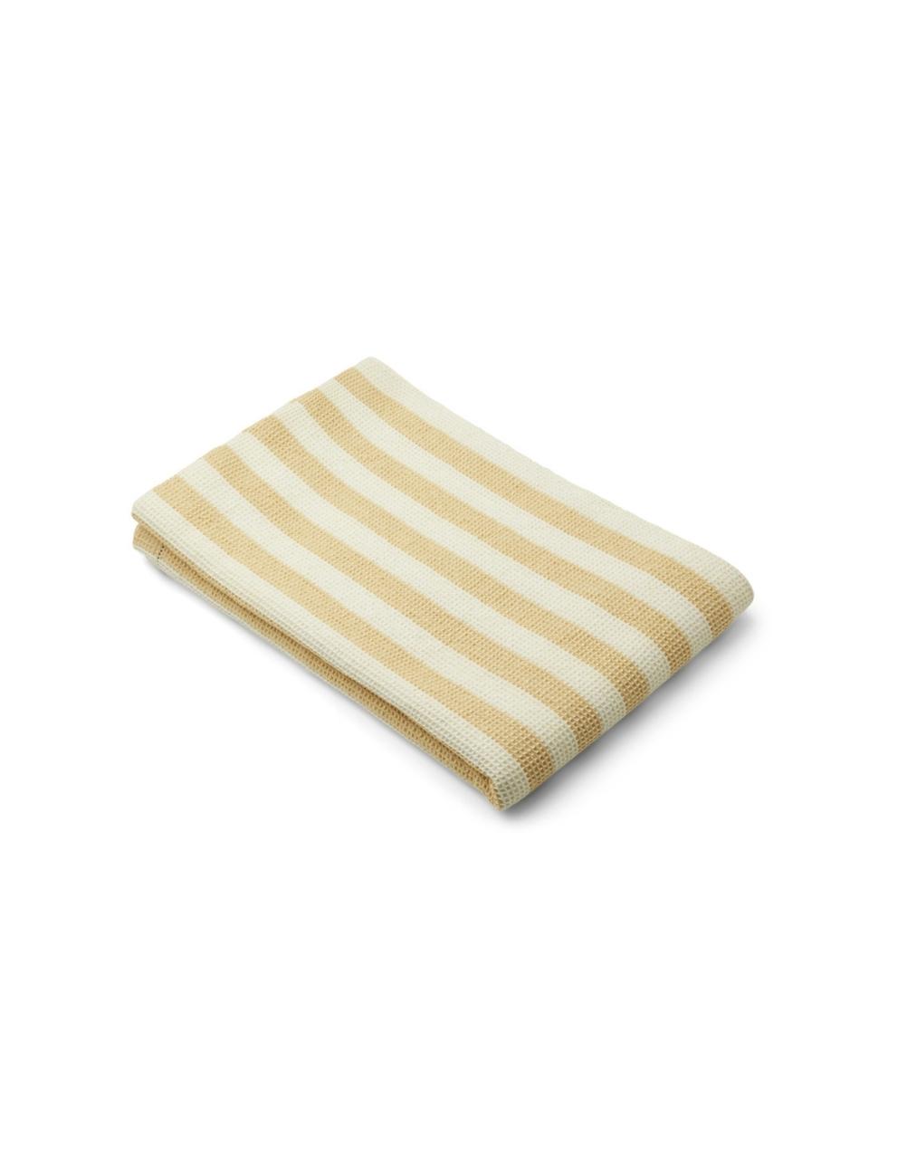 Macy Beach Towel Wheat Yellow/Creme de la Creme