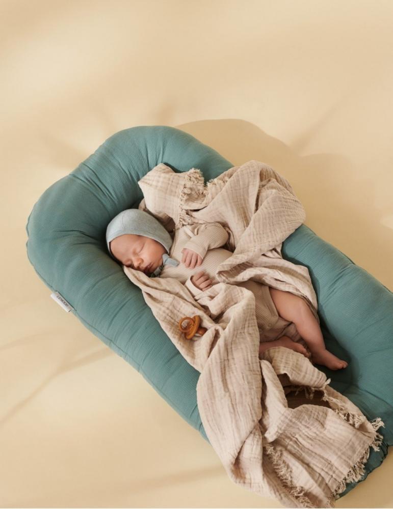 Edward Baby Nest Dove Blue