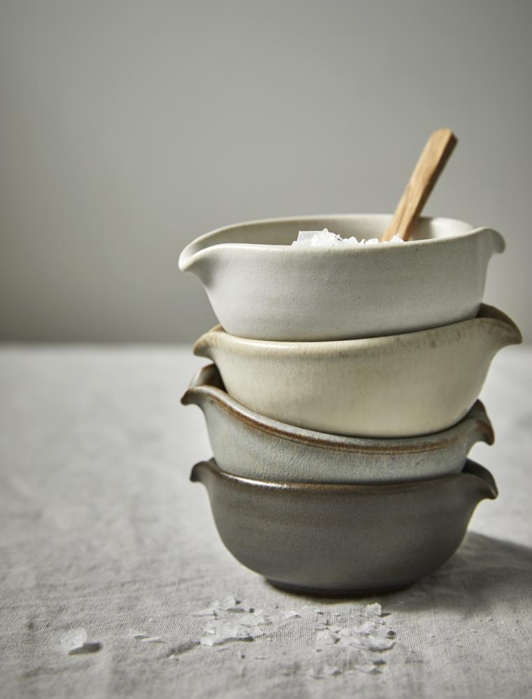 Grey Mini Sauce Bowl C/O Lantliv