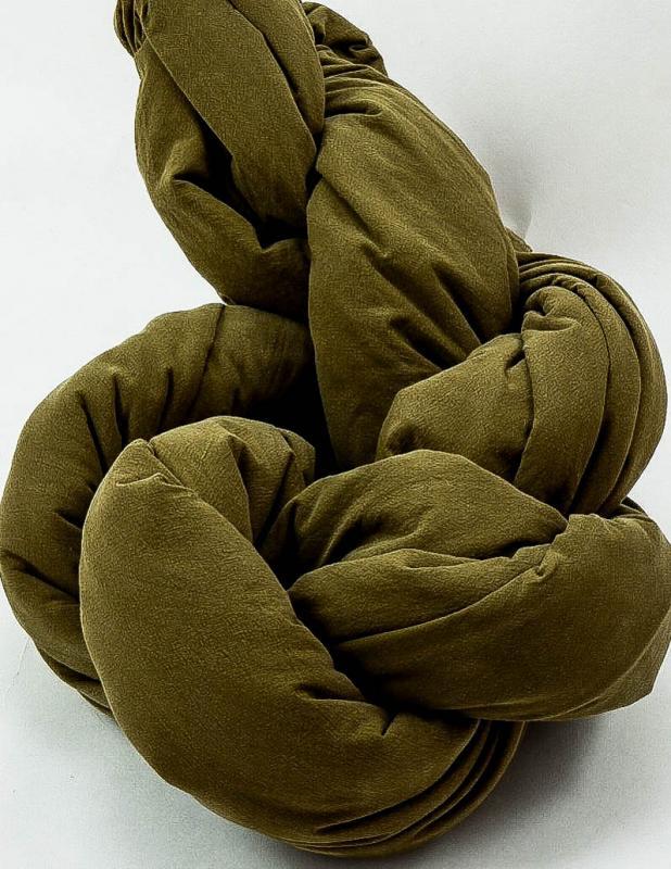 Påslakanset Crinkle Moss Green