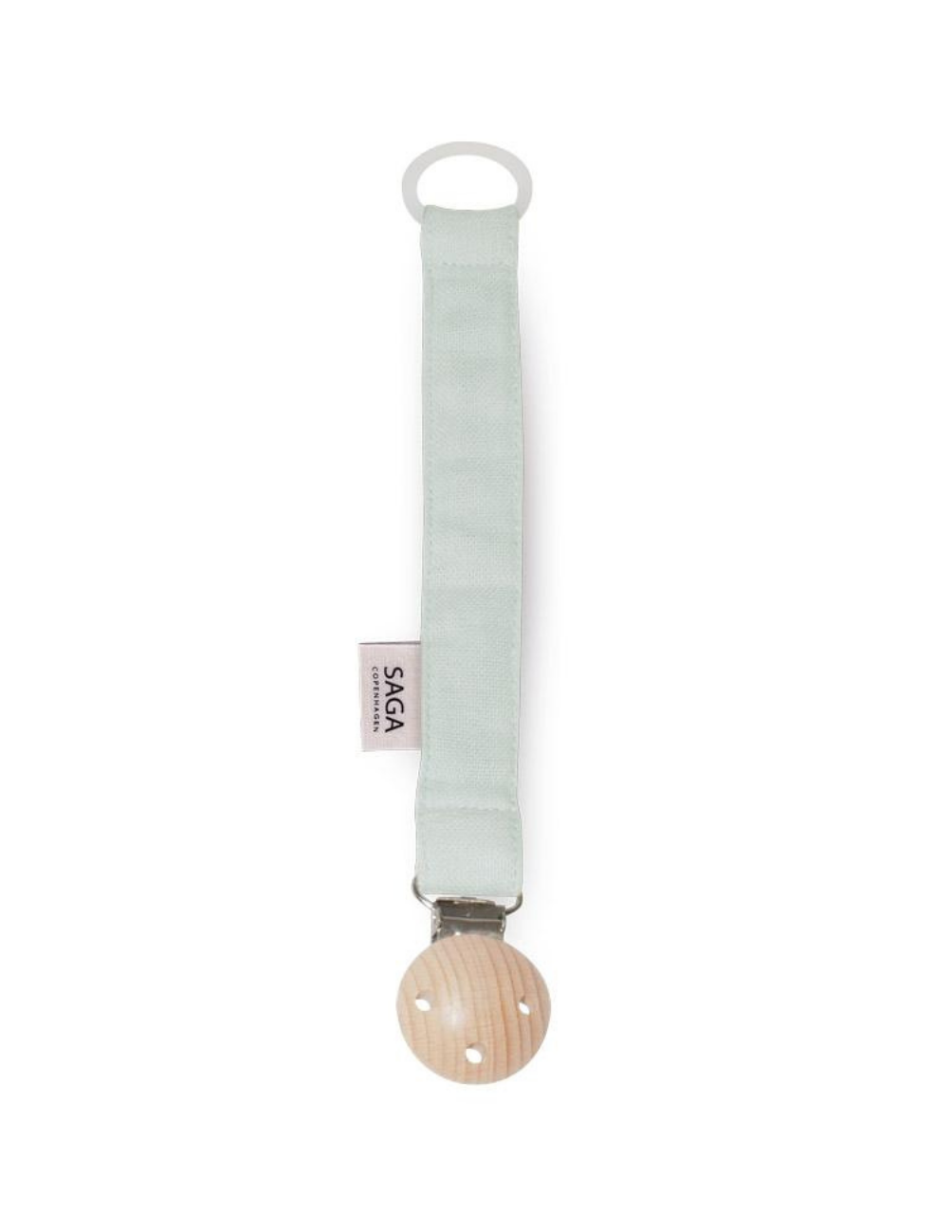Pacifier Clip Mint