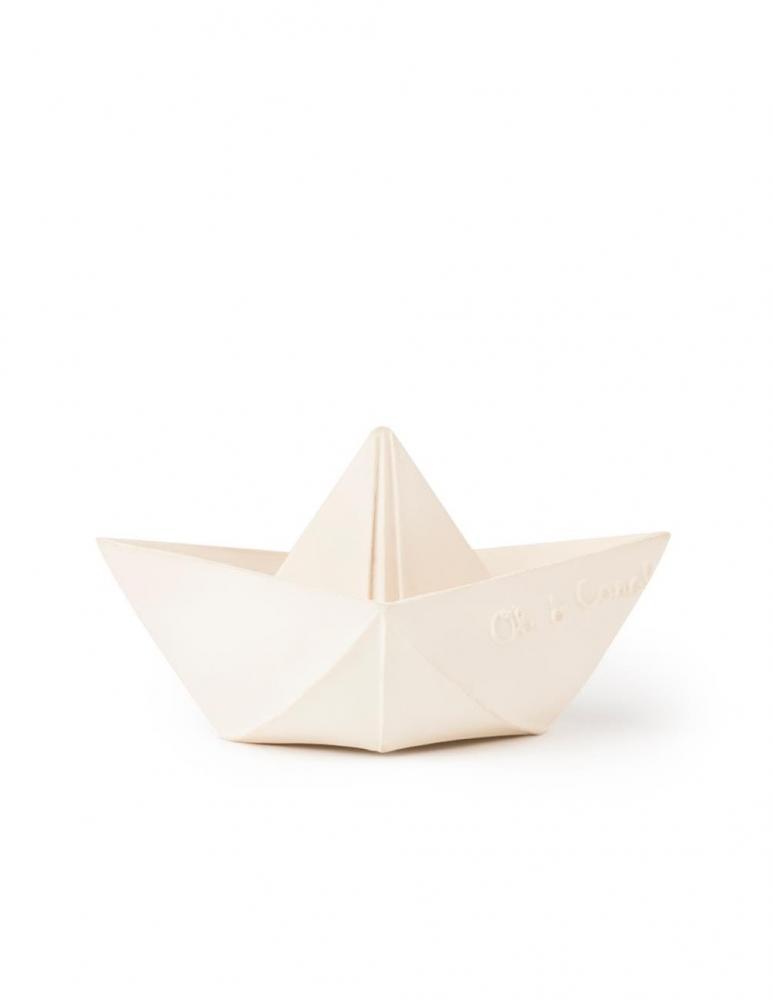 Origami Båt Vit