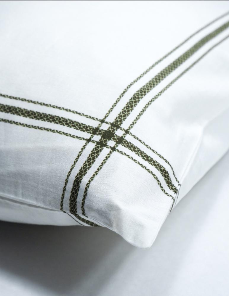 Pillowcase Arvid Olive