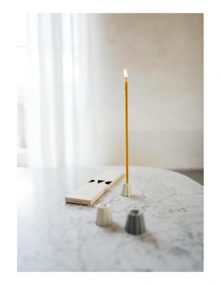Beeswax Slim Candles