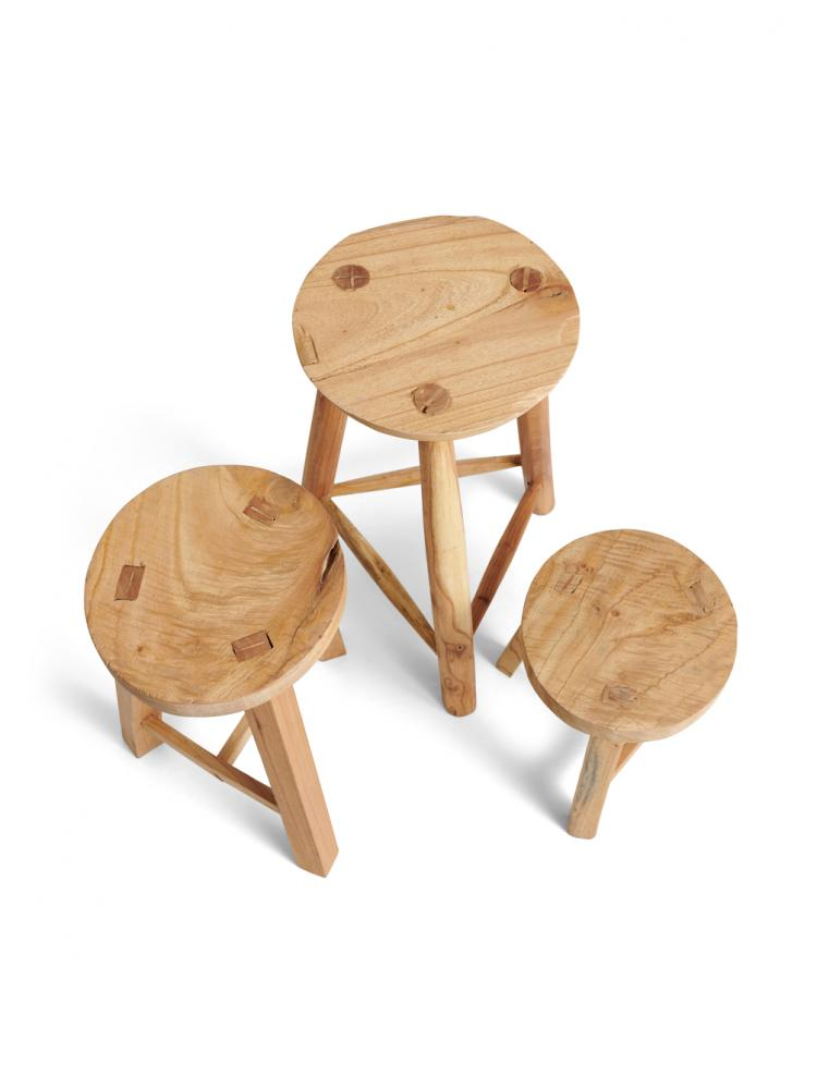 Stool Reclaimed Wood