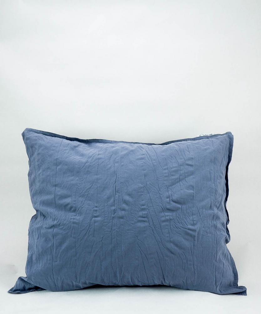 Pillowcase Crinkle Dusty Blue