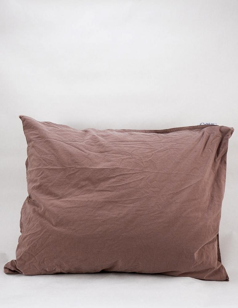 50x60cm Pillowcase Crinkle Rose Taupe