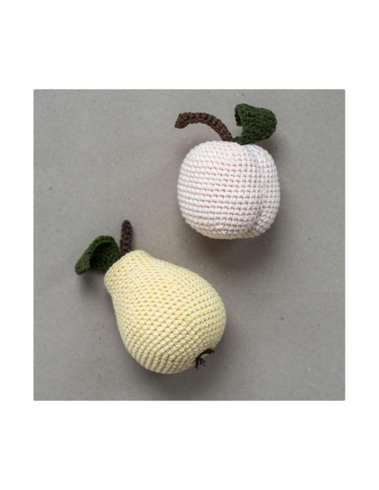 Pears & Peach Set Crochet