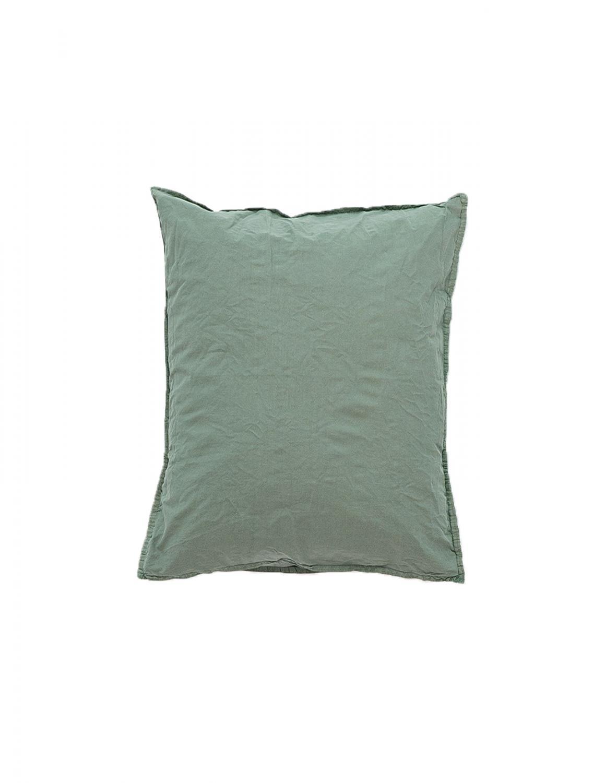 50x60cm Pillowcase Crinkle Petrol