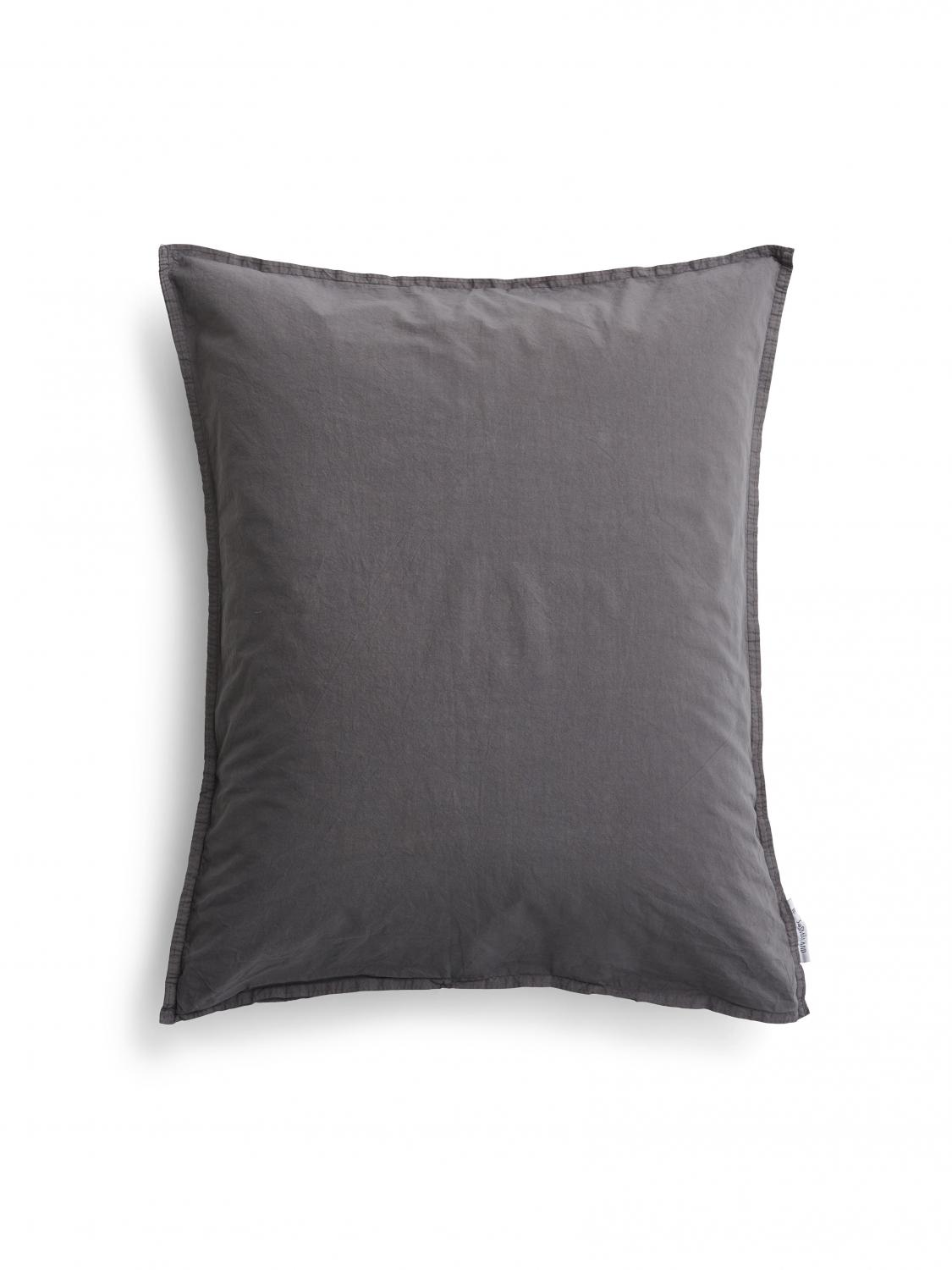 Pillowcase Crinkle Dark Grey