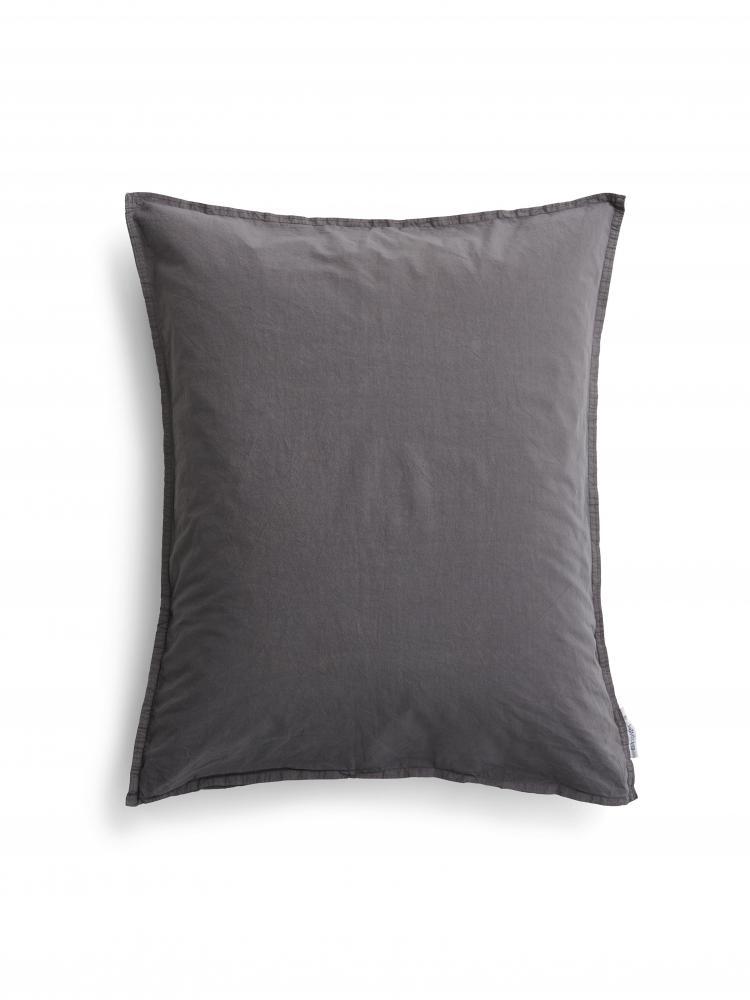 50x60cm Örngott Crinkle Dark Grey