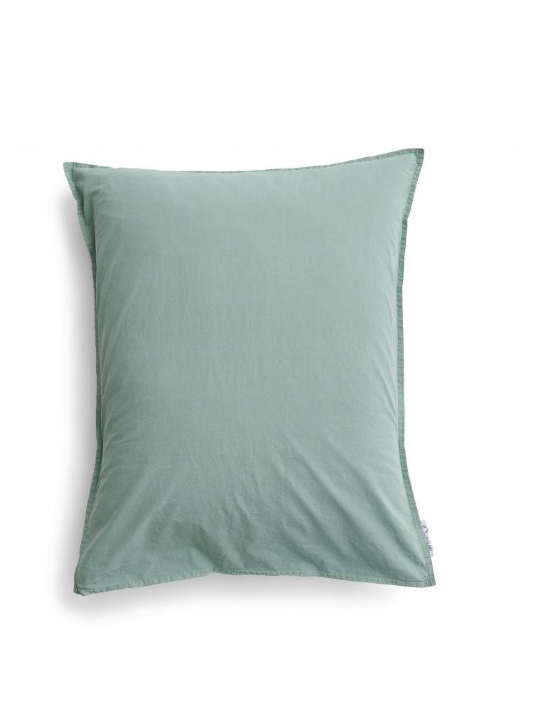 Kuddfodral Crinkle Mineral Green