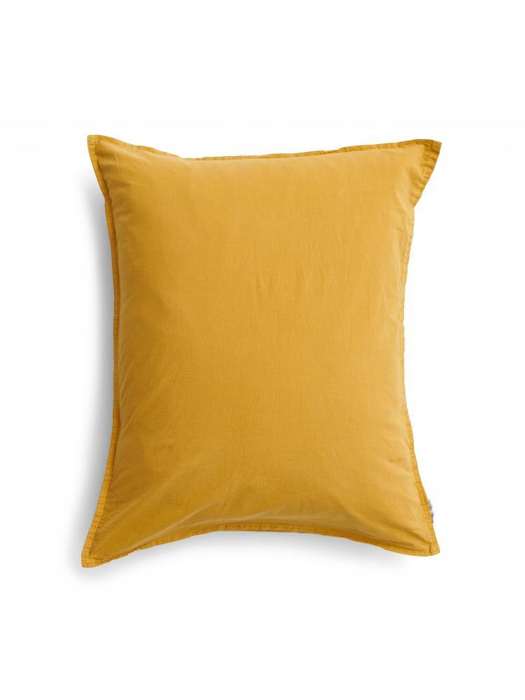 Kuddfodral Crinkle Mustard Gold