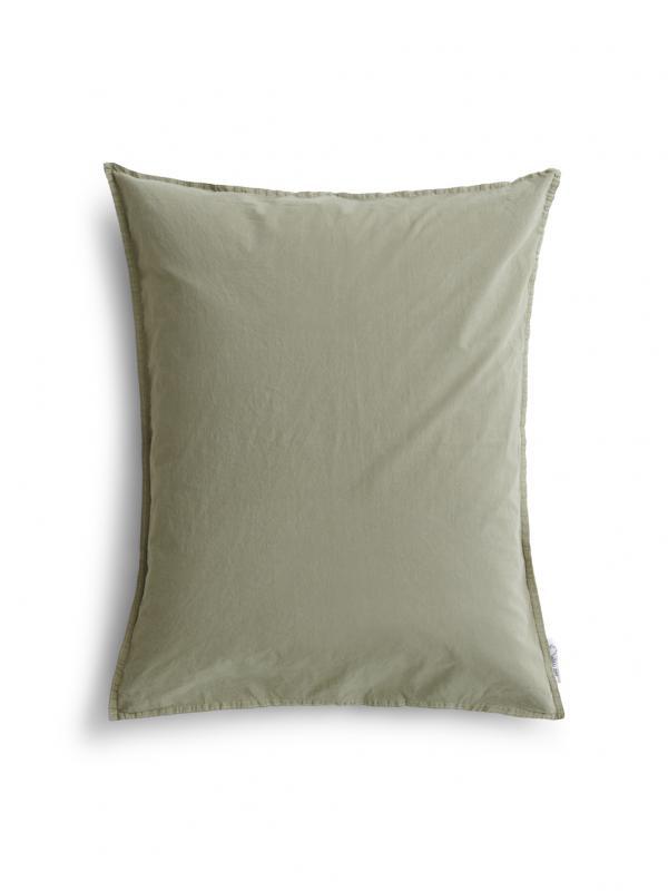 50x60cm Pillowcase Crinkle Sage