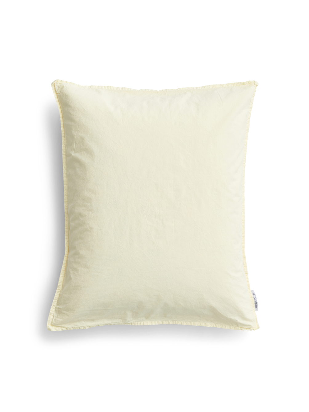50x60cm Pillowcase Crinkle Spring Yellow