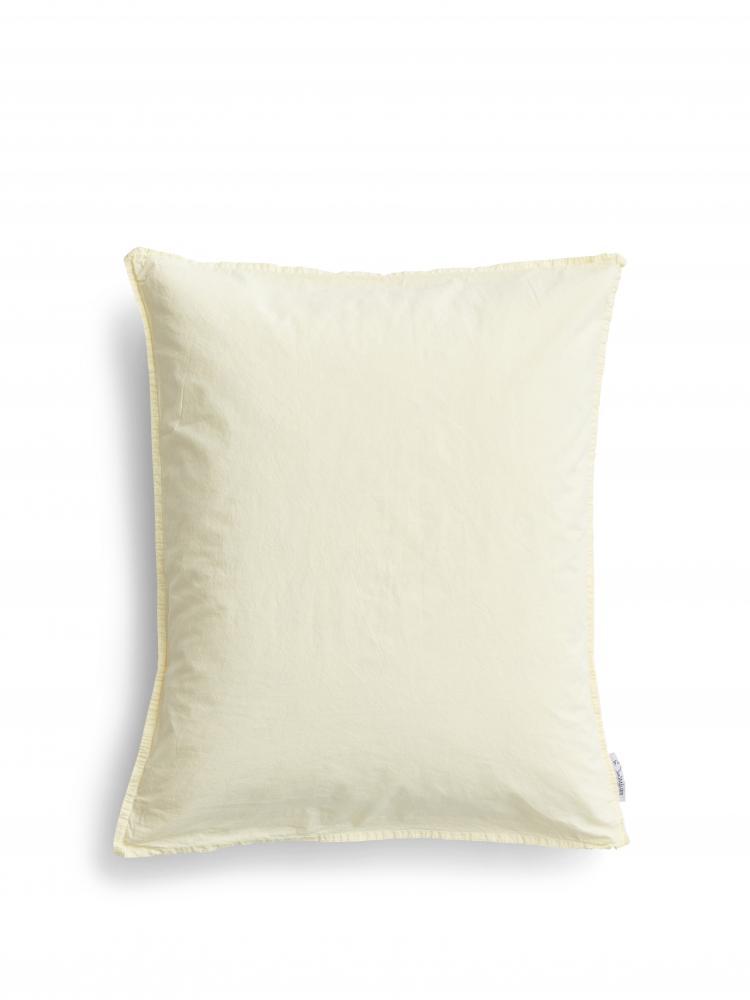 50x60cm Pillowcase Crinkle Spring Yellow