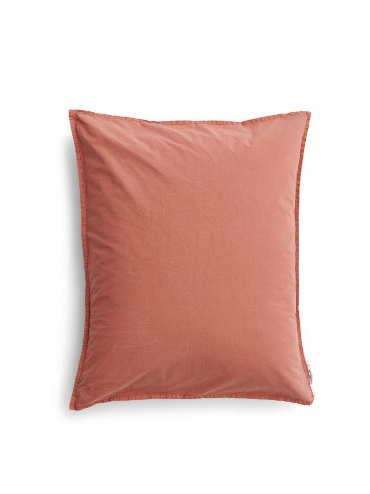 50x60cm Pillowcase Crinkle Terracotta