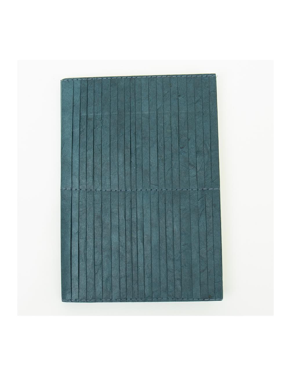 Blå Pleated Skrivbok A5