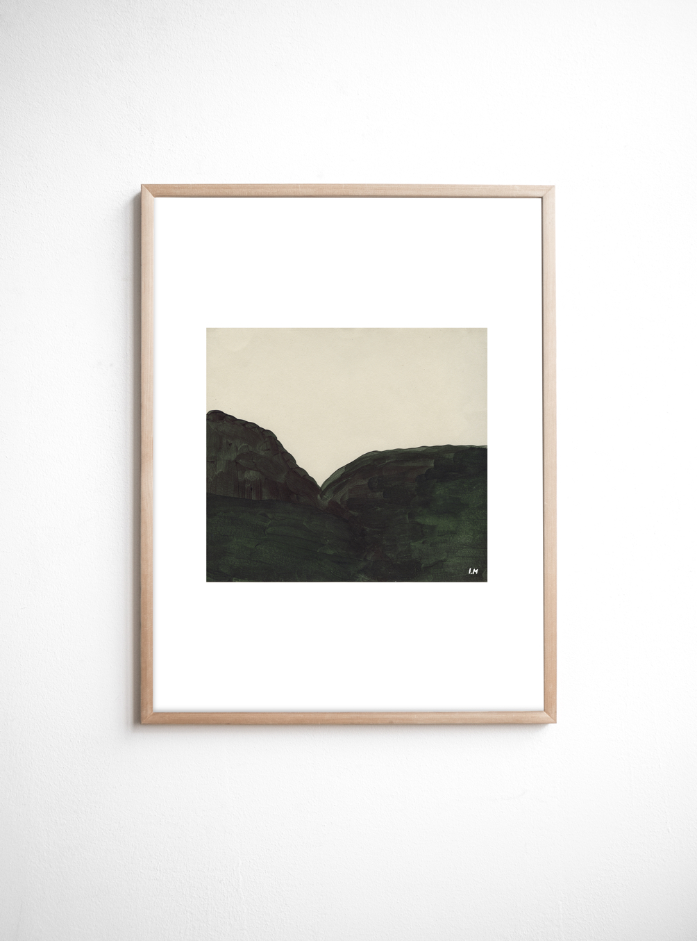 The Hill Poster (40x50cm)