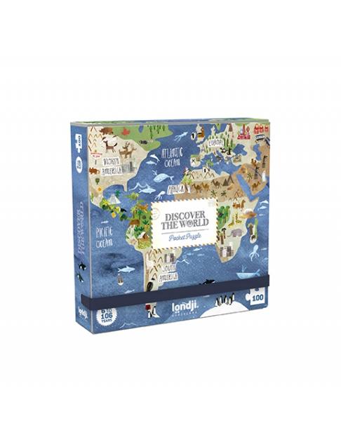 Londji Pocket Puzzel World