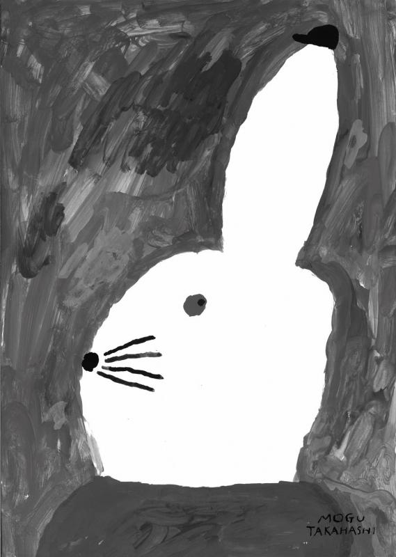 Rabbit with small hat