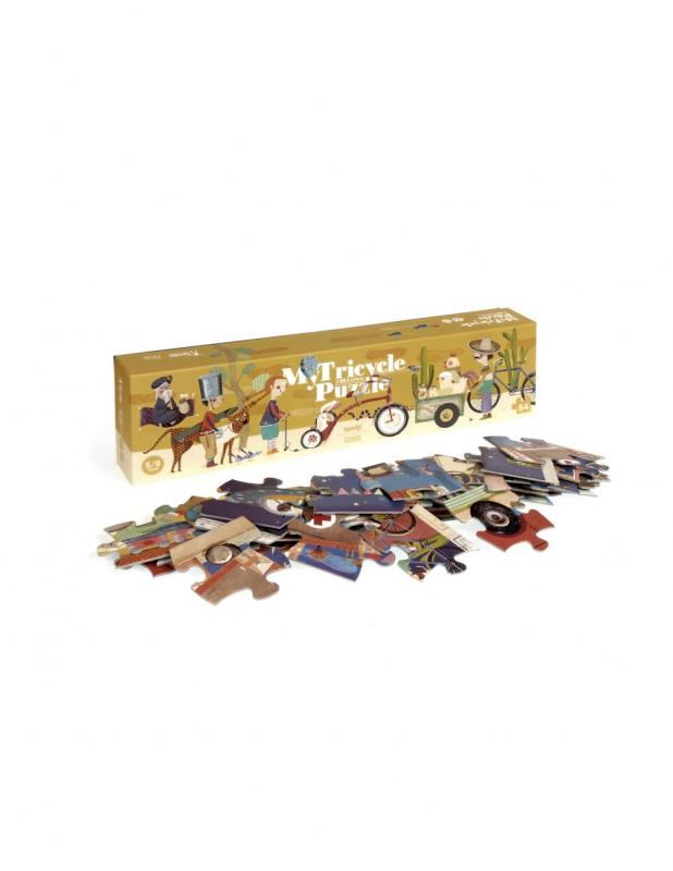 My Tricycle Puzzel
