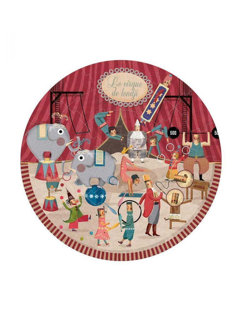 Londji Circus round puzzle