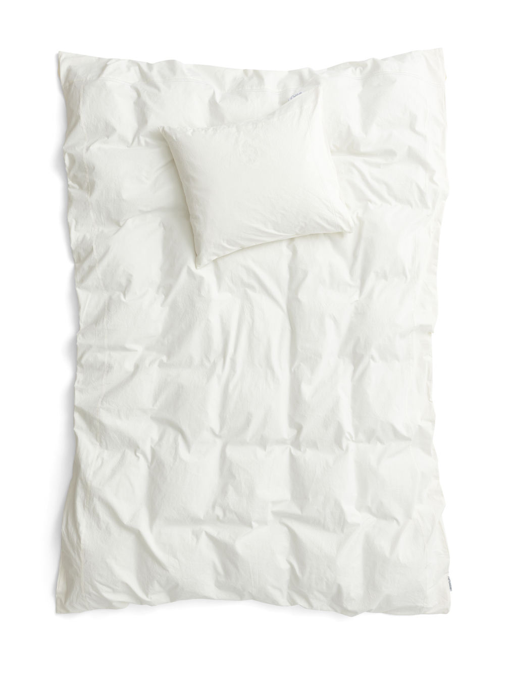Recycled Duvet Cover Set Off White