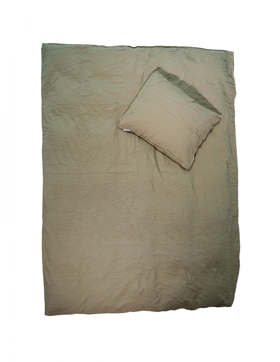 Recycled Duvet Cover Set Sage