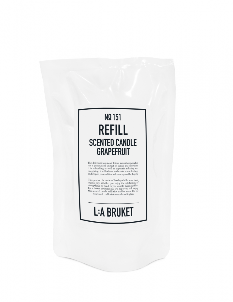 Refill Scented Candle Grapefruit