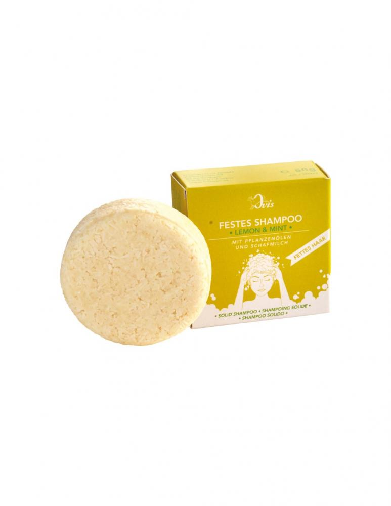 Solid Shampoo Lemon & Mint